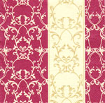 Ubrousek Bordo ornamenty